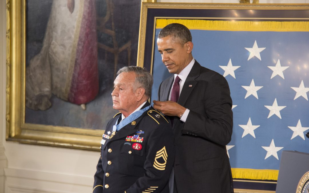 President Barack Obama presents 24 Army veterans with the Medal of Honor