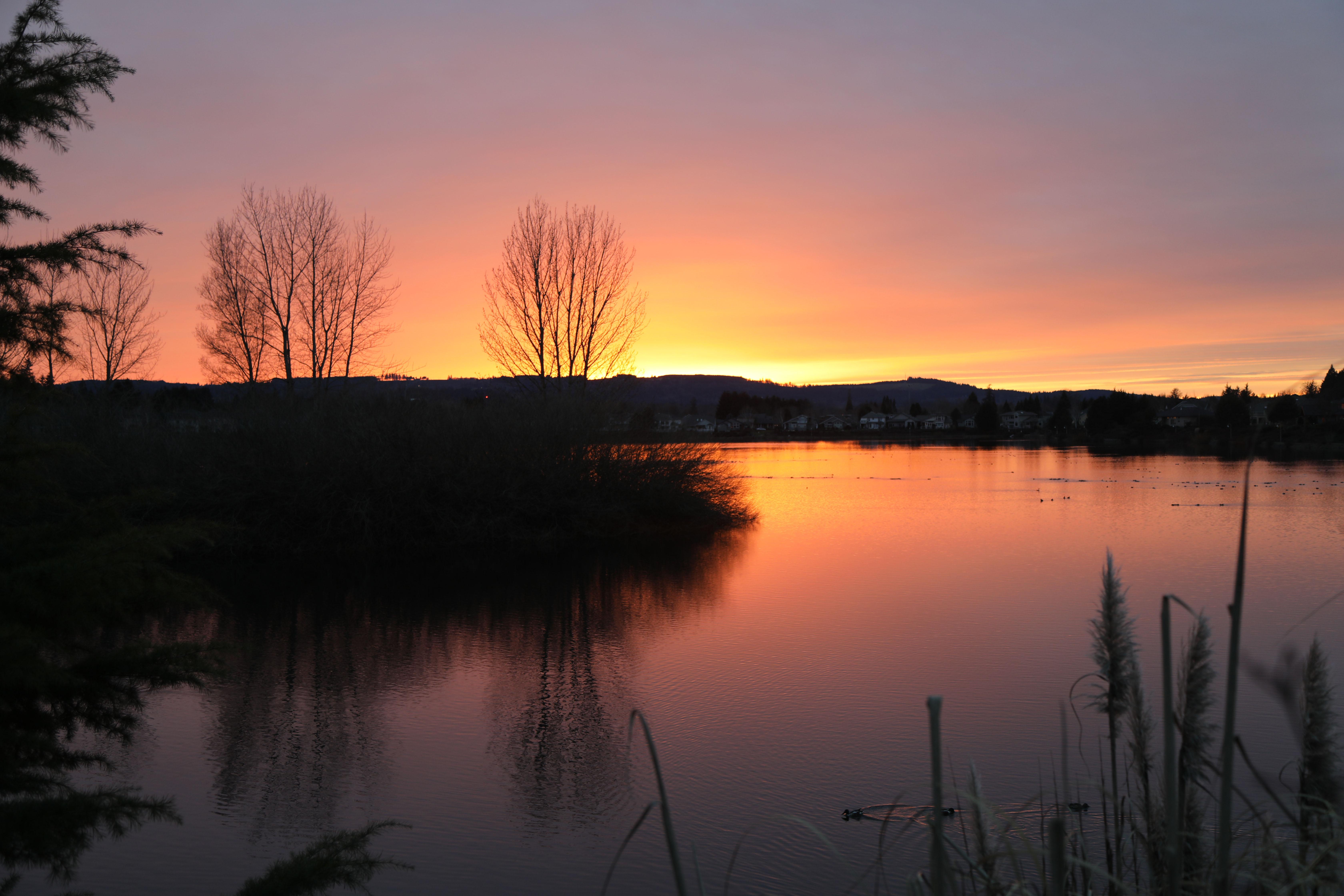 Keizer, Oregon Sunset