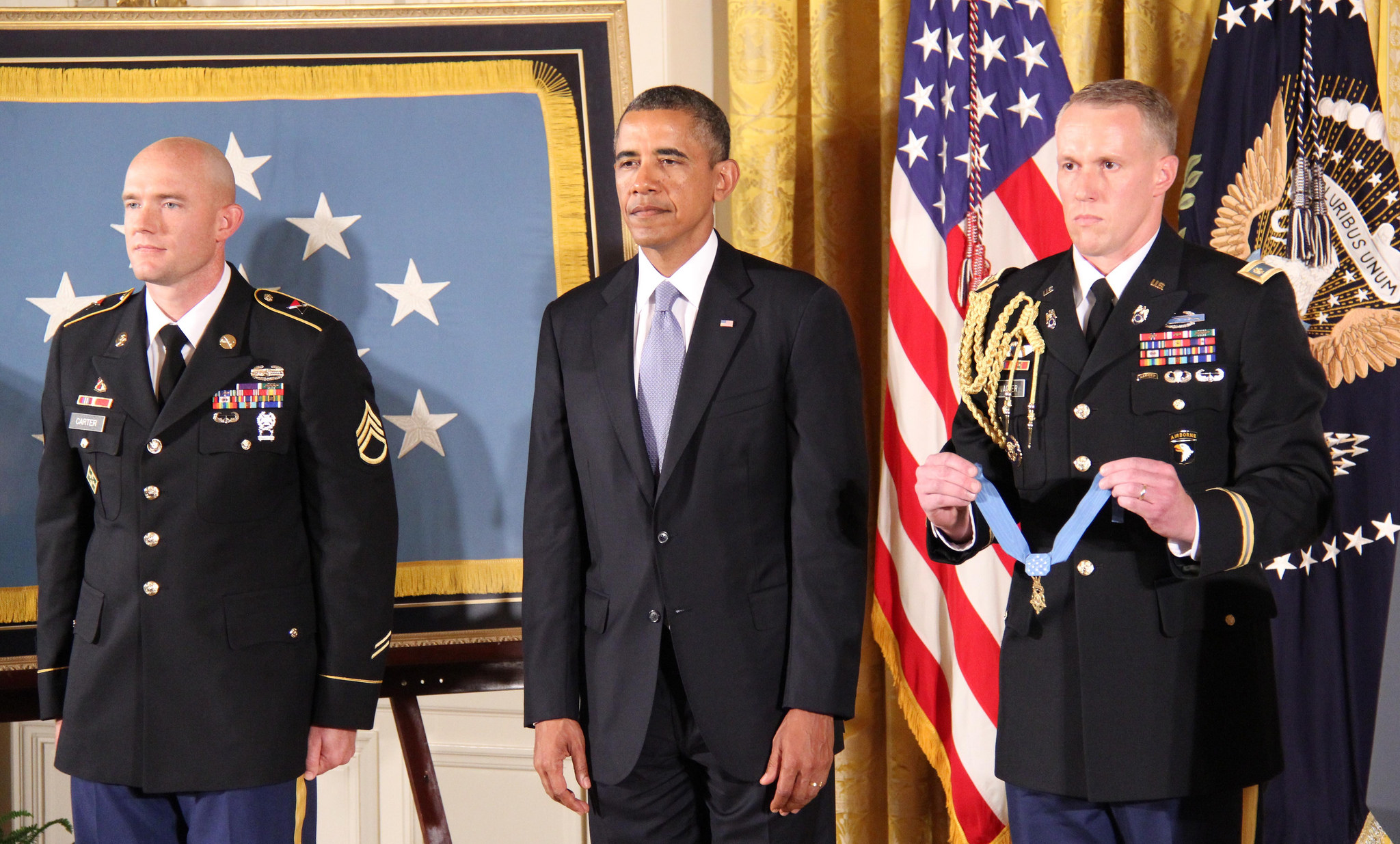 Ty Carter Medal of Honor Ceremony